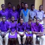 BERNARD JOACHIM POTAKEY DONATES TO NKWANTA SENIOR HIGH TECHNICAL SCHOOL
