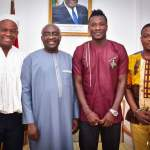Asamoah Gyan meets vice president Bawumia (Pictures)