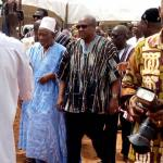 John Mahama pays tribute to former Tamale North MP Alhaji Abubakri Sumani (Pictures)