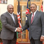 John Mahama arrives in Nairobi to observe Kenya's elections