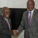 Akufo-Addo finally congratulates Uhuru Kenyatta
