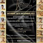 All set for Miss Ghana U.K. 2017 finals