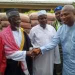 Okudzeto Ablakwa donates bags of cement to Juapong Imam's school project
