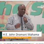 Mugabe's ending is sad, John Mahama says