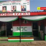 Nii Lante Vanderpuye inaugurates new NDC office to begin grassroot re-organization in Odododiodoo