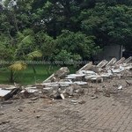 Rawlings' residence wall collapses as heavy rain troubles Accra
