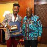 Shatta Wale visits Akufo Addo (Picture's)
