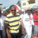 Live Streaming  -NDC Unity Walk in Cape Coast with John Mahama (Video + Pictures)