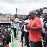 John Mahama jabs Akufo-Addo for making fake promises (Video)
