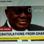 Liberian Elections; Akufo-Addo denies congratulating Joseph Boakai ahead of declaration