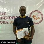 Abeiku Santana Wins Male Celebrity Entrepreneur of the Year (Pictures)