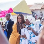 Jackie Appiah appointed as a member of the Manya Krobo Traditional Council (Pictures +Video)