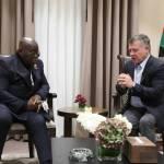 King of Jordan meets Ghana president as Aqaba Meetings conclude