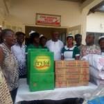 Amissah-Arthur celebrates Christmas with kids at Ho Regional Hospital