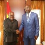 Akufo-Addo leaves Ghana for George Weah's inauguration in Liberia
