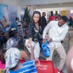 Benedicta Gaffah donates to widows in Kumasi