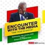 PRESIDENTIAL MEDIA ENCOUNTER; SAME PRESIDENT DIFFERENT EXCUSES