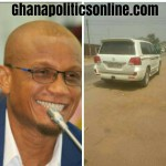 "Akufo Addo's Information Minister, Mustapha Hamid owns a ""tear rubber"" customized V8 in ju..."