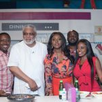 Ex President Jerry Rawlings Cooks on Dining With Season 3 (Pictures +Video)