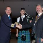 KLM, British High Commissioner welcome Scottish Bagpiper to Ghana for Scottish Day