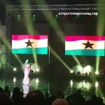 Efya Sings The Ghana National Anthem At CAF Awards (Video+Pics)