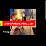 Top NPP Financier burns party paraphernalia in protest of poor treatment (Video)
