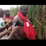 AWUTU SENYA EAST NPP MEMBERS INVOKE CURSES ON PARTY EXECUTIVES (VIDEO +PICTURES)