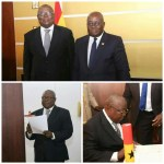 Nana Addo swears in Martin Amidu as Ghana's first Special Prosecutor (Pictures )