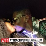 Shatta Wale kisses Shatta Mitchy in his brand new Dodge Charger (Pictures + Video )