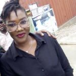 Ebony's look alike gets mobbed at the funeral grounds (Video)
