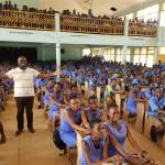 David Vondee Supports Twifo Praso Senior High School