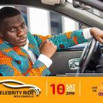 Celebrity Ride with ZionFelix starts showing on Angel TV this Saturday at 2:00pm