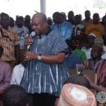 NDC faithfuls walk with John Mahama In Wa (Video)