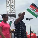 NDC shakes NPP stronghold with unity walk in Kumasi (Video)