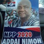 Addai Nimo's 2020 Posters Pop Up – He'll Contest Akufo-Addo