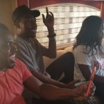 Abeiku Santana and Article Wan Entertain Tourists In A Luxurious Bus (Video)