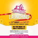 Nana Appiah Mensah launches  Zylofon Properties