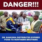 Punish NADMO officials over expired food donations - Ofosu Kwakye