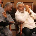 Rawlings congratulates John Mahama
