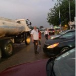 Rawlings directs traffic on Accra-Aflao road (Video)