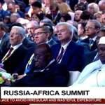 Akufo-Addo sleeps at Russia Africa Summit 2019 (Video)