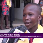 12-year-old home-schooled boy gains admission to University of Ghana