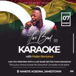 """Foster Romanus to Rock """"The Kenkey Festival"""" with Live Band Karaoke"""