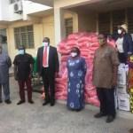 John Mahama donates food items to Christian Council