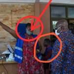 Akufo-Addo tours registration centres in Accra amid breaches of coronavirus safety protocols