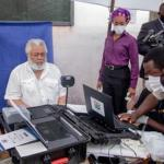 Rawlings Gets Voter ID
