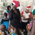 Ketu South MP-elect Hon Dzifa Gomashie fetes children on Boxing Day (Pictures )