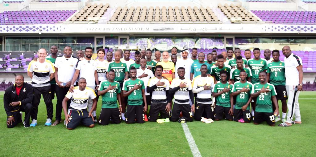 Globally-acclaimed sports management professional Philip Alimo organised Ghana Black Stars' camping in Al Ain in 2017