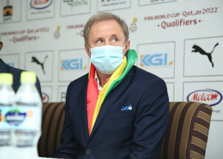 This is how much Milovan Rajevac will earn if he qualifies Ghana to the 2022 FIFA World Cup