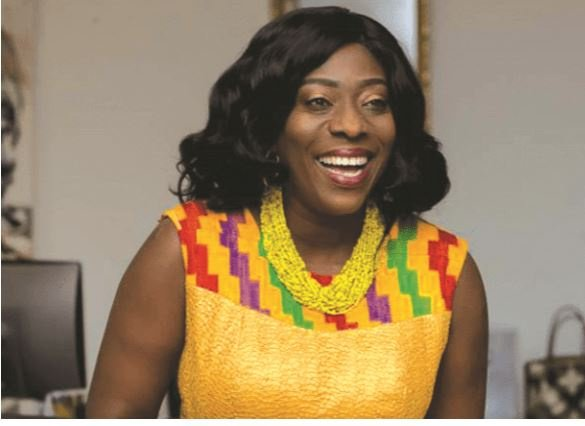 Catherine Afeku adjudged second best performing Minister – Ghana ...
